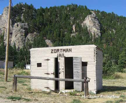 The Zortman Jail